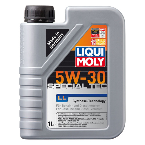 Моторное масло LIQUI MOLY Special Tec LL 5W-30 1л. синтетическое [8054]