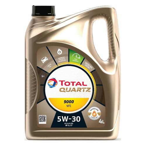 Фото - Моторное масло TOTAL Quartz 9000 Future NFC 5W-30 4л. синтетическое [10230501] моторное масло total quartz 9000 future gf 5 0w 20 1 л