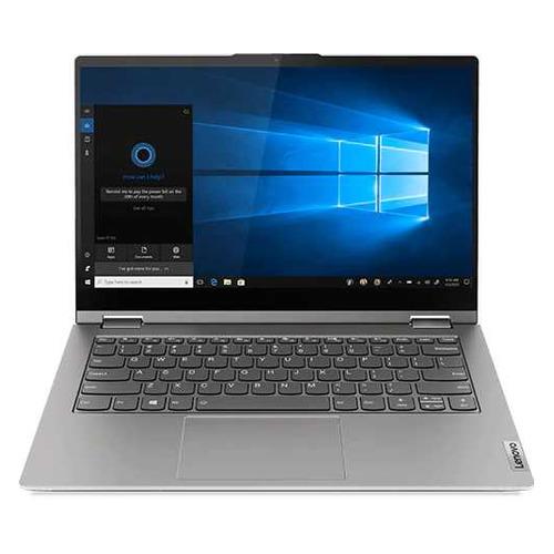 "Ноутбук-трансформер Lenovo Thinkbook 14s Yoga ITL, 14"", IPS, Intel Core i5 1135G7 2.4ГГц, 8ГБ, 512ГБ SSD, Intel Iris Xe graphics , Windows 10 Professional, 20WE0008RU, серый"