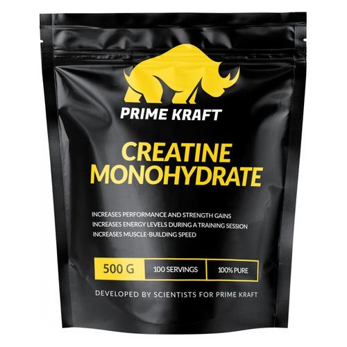 Креатин PRIME KRAFT Creatine Monohydrate, порошок, 500гр, нейтральный [яб026580]