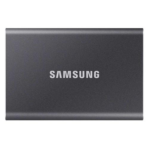 Фото - Внешний диск SSD SAMSUNG T7 MU-PC1T0T/WW, 1ТБ, черный внешний диск ssd samsung t7 touch mu pc2t0s ww 2тб серый