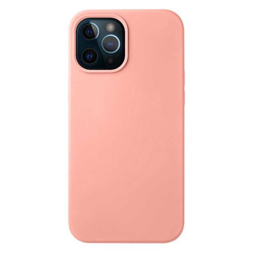 Чехол (клип-кейс) Deppa Liquid Silicone, для Apple iPhone 12 Pro Max, розовый [87713] чехол клип кейс deppa liquid silicone для apple iphone 12 mini бургунди [87787]