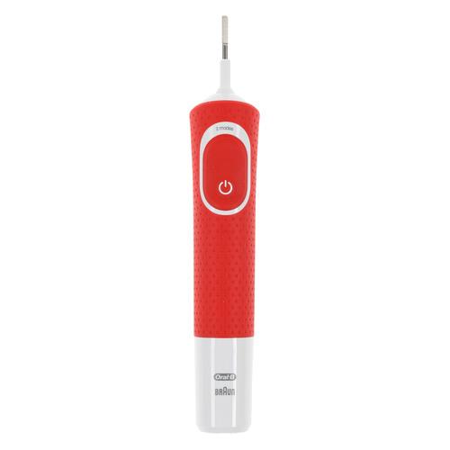 Электрическая зубная щетка ORAL-B Pixar D100.413.2KX, цвет: красный [80337576]