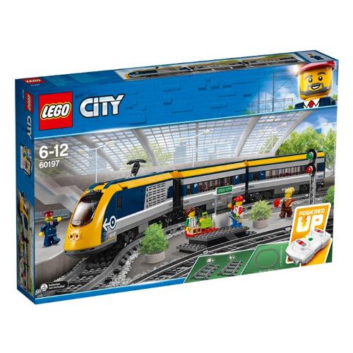 Конструктор Lego City Пассажирский поезд, 60197