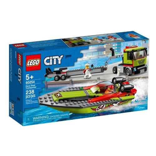 Конструктор LEGO City Транспортировщик скоростных катеров, 60254