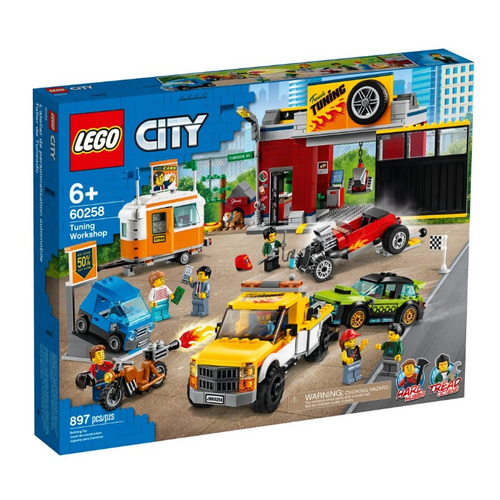 Конструктор LEGO City Тюнинг-мастерская, 60258