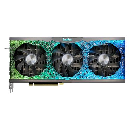 Видеокарта PALIT NVIDIA GeForce RTX 3090 , PA-RTX3090 GAMEROCK OC 24G, 24ГБ, GDDR6X, OC, Ret [ned3090h19sb-1021g]