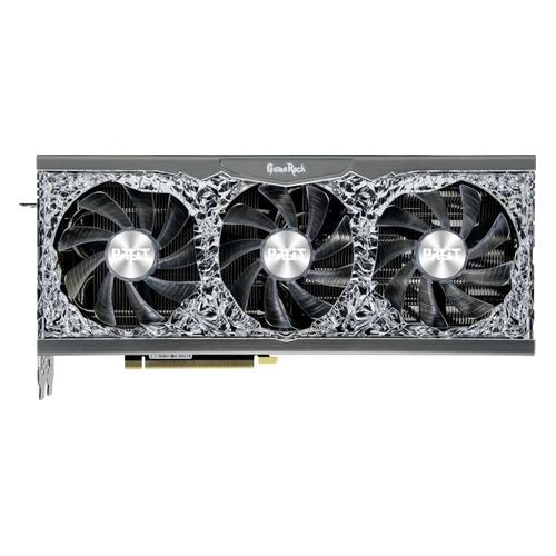 Видеокарта PALIT NVIDIA GeForce RTX 3090 , PA-RTX3090 GAMEROCK 24G, 24ГБ, GDDR6X, Ret [ned3090t19sb-1021g]
