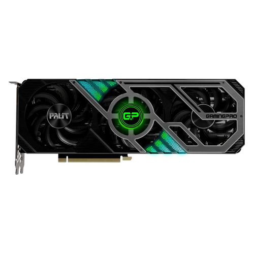Видеокарта PALIT NVIDIA GeForce RTX 3090 , PA-RTX3090 GAMINGPRO OC 24G, 24ГБ, GDDR6X, OC, Ret [ned3090s19sb-132ba]