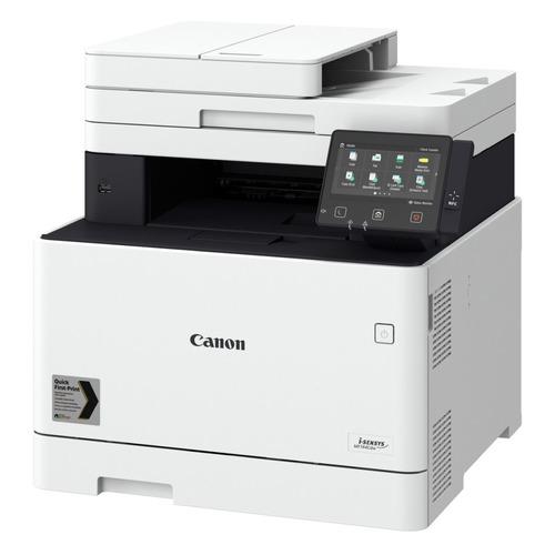 Фото - МФУ лазерный CANON i-Sensys Colour MF744CDW, A4, цветной, лазерный, белый [3101c064] мфу canon i sensys mf744cdw копир цветной принтер сканер dadf duplex 27стр мин 1200x1200dpi fax wifi lan a4 замена mf734cdw