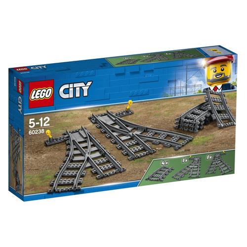 Конструктор Lego City Железнодорожные стрелки, 60238