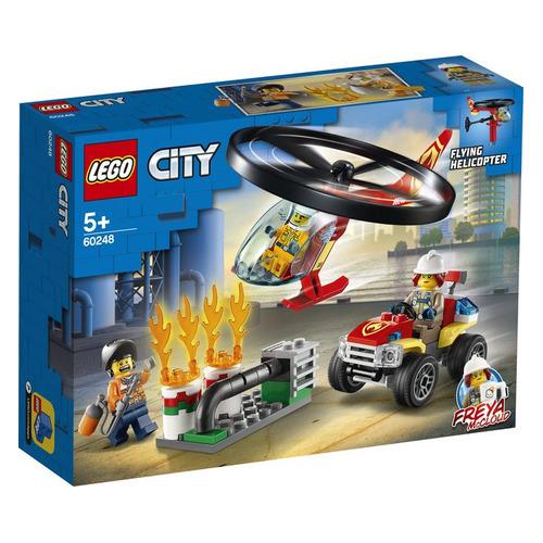 Конструктор Lego City Пожарный спасательный вертолет, 60248