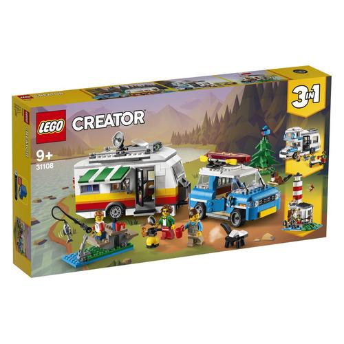 Конструктор LEGO Creator Отпуск в доме на колесах, 31108