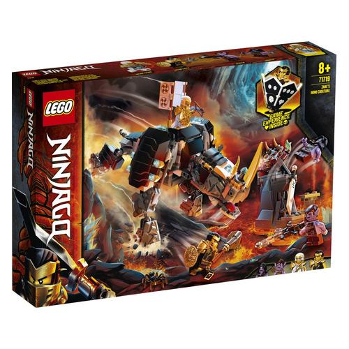Фото - Конструктор LEGO Ninjago Бронированный носорог Зейна, 71719 конструктор lego ninjago бронированный носорог зейна