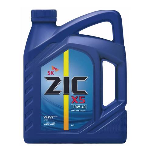 Моторное масло ZIC X5 10W-40 6л. полусинтетическое [172622]