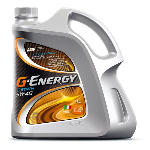 Моторное масло G-ENERGY F Synth 5W-40 4л. синтетическое [253140153]