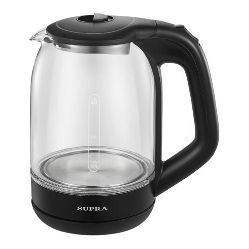 Фото - Чайник электрический SUPRA KES-1872G, 1500Вт, черный чайник электрический supra kes 1893 1500вт белый