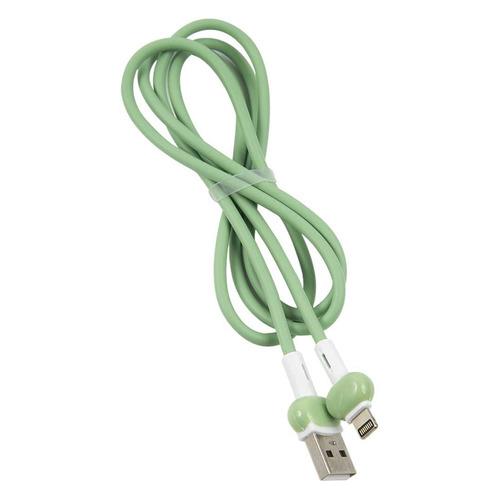 Кабель Redline Candy, Lightning (m) - USB (m), 1м, зеленый [ут000021990] кабель redline candy usb type c m usb a m 1м зеленый ут000021995