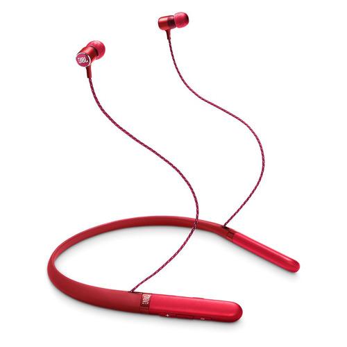 Фото - Гарнитура JBL Live 200 BT, Bluetooth, вкладыши, красный [jbllive200btred] гарнитура jbl t205bt lifestyle bluetooth вкладыши синий [jblt205btblu]