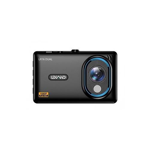 Видеорегистратор LEXAND LR16 Dual, черный