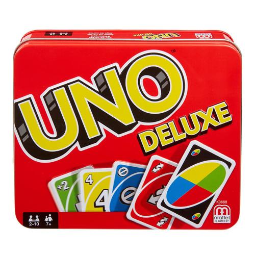 Настольная игра Games UNO Deluxe [k0888]