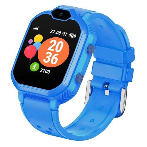 Фото - Смарт-часы GEOZON G-Kids 4G, 44мм, 1.4, голубой / голубой [g-w13blu] geozon g kids 4g plus red g w14red