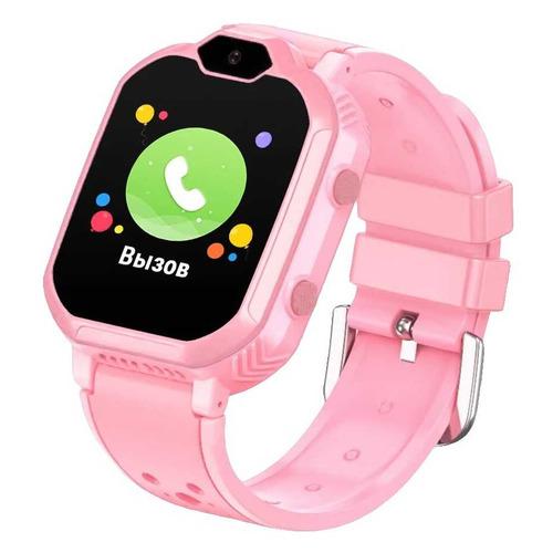 Фото - Смарт-часы GEOZON G-Kids 4G, 44мм, 1.4, розовый / розовый [g-w13pnk] geozon g kids 4g plus red g w14red