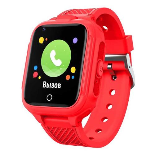 Фото - Смарт-часы GEOZON G-Kids 4G Plus, 44мм, 1.4, красный / красный [g-w14red] geozon g kids 4g plus red g w14red
