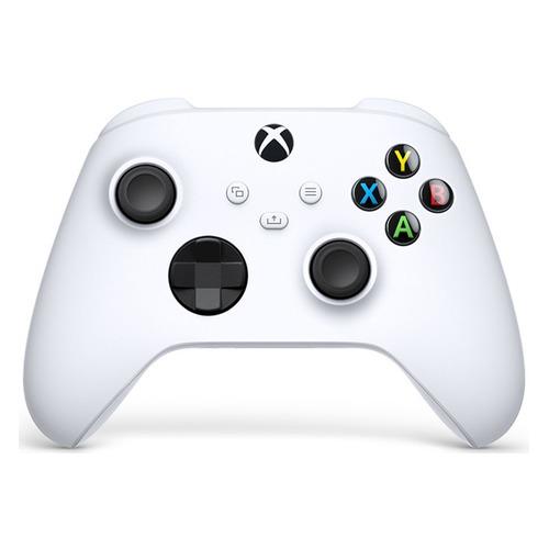 Фото - Геймпад Беспроводной MICROSOFT QAS-00002, Bluetooth, для Xbox Series X/One, белый геймпад microsoft xbox one usb кабель для пк 4n6 00002 черный