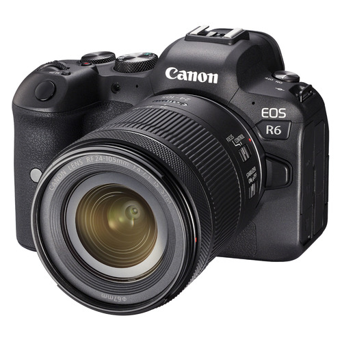 Фотоаппарат Canon EOS R6 черный 20.1Mpix 3
