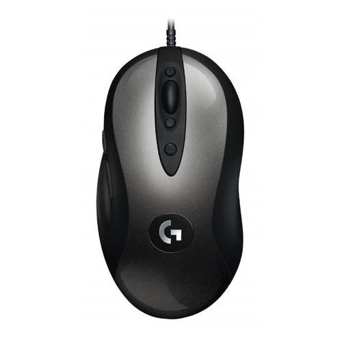 Фото - Мышь LOGITECH G MX518, игровая, оптическая, проводная, USB, черный [910-005544] мышь logitech g502 hero игровая оптическая проводная usb белый и черный [910 006097]