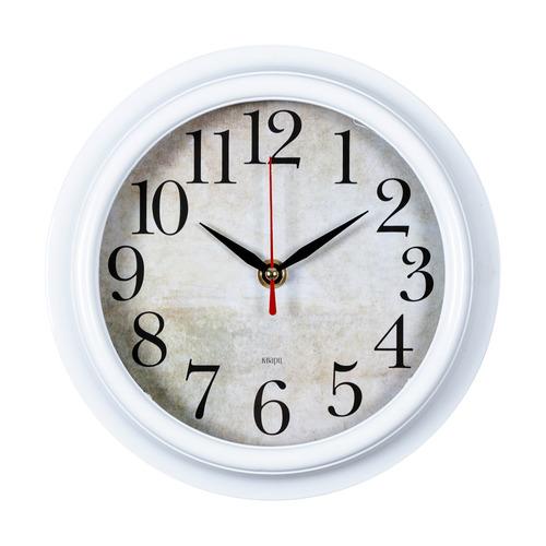 Настенные часы БЮРОКРАТ WALLC-R80P, аналоговые, белый
