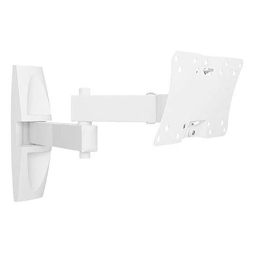 Фото - Кронштейн для телевизора HOLDER LCDS-5064, 10-32, настенный, поворотно-выдвижной и наклонный кронштейн для телевизора holder lcds 5064 макс 30кг белый