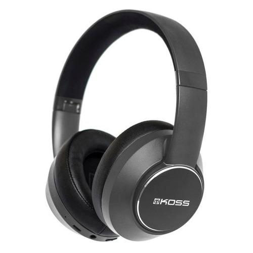 Гарнитура Koss BT740iQZ, Bluetooth, накладные, черный [80001062]