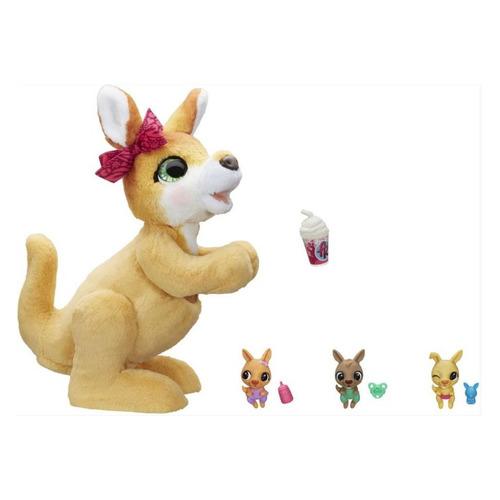 Интерактивная игрушка FURREAL FRIENDS Кенгуру Джози и ее малыши [e67245l0]