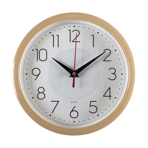 Настенные часы БЮРОКРАТ WALLC-R83P, аналоговые, белый