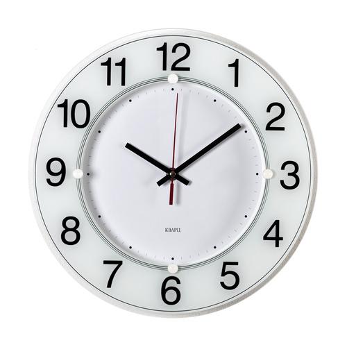 Настенные часы БЮРОКРАТ WALLC-R84P, аналоговые, белый