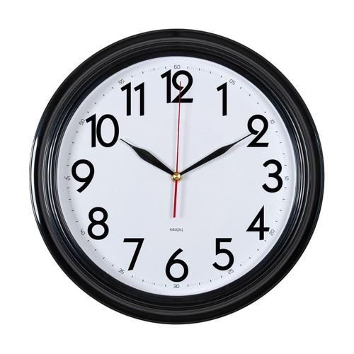 Настенные часы БЮРОКРАТ WALLC-R86P, аналоговые, черный