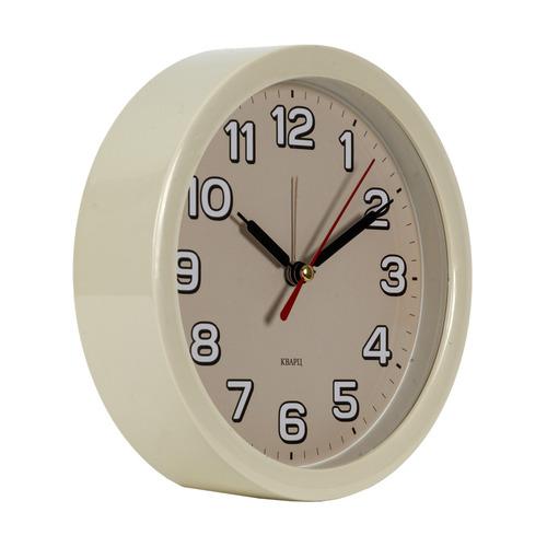 Будильник БЮРОКРАТ Alarm-R15P, аналоговые, бежевый