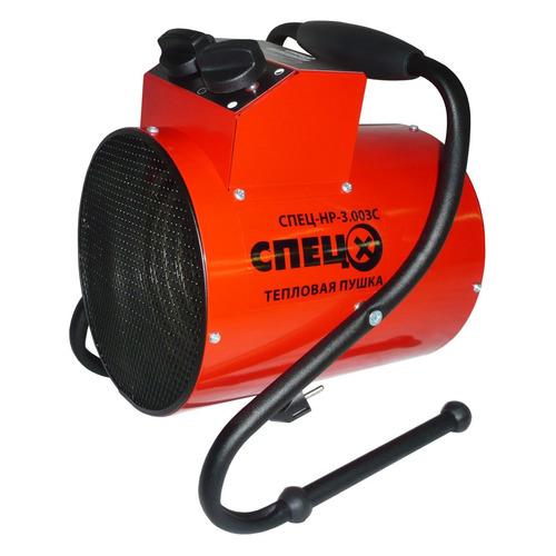 Тепловая пушка электрическая СПЕЦ СПЕЦ-HP-3.003C, красный