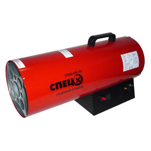 Фото - Тепловая пушка газовая СПЕЦ СПЕЦ-IGE-30, красный пушка тепловая газовая спец ige 10
