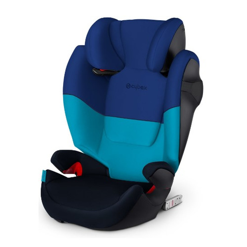 Автокресло детское CYBEX Solution M-Fix Blue Moon, 2/3, от 3 лет до 12 лет, синий автокресло детское cybex pallas 2 fix 1 2 3 от 9 мес до 12 лет синий темно синий