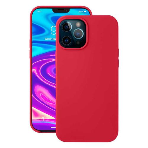Чехол (клип-кейс) Deppa Liquid Silicone, для Apple iPhone 12 Pro Max, красный [87784] чехол клип кейс deppa liquid silicone для apple iphone 12 mini бургунди [87787]