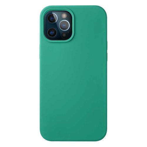 Чехол (клип-кейс) Deppa Liquid Silicone, для Apple iPhone 12 Pro Max, зеленый [87721] чехол клип кейс deppa liquid silicone для apple iphone 12 mini бургунди [87787]