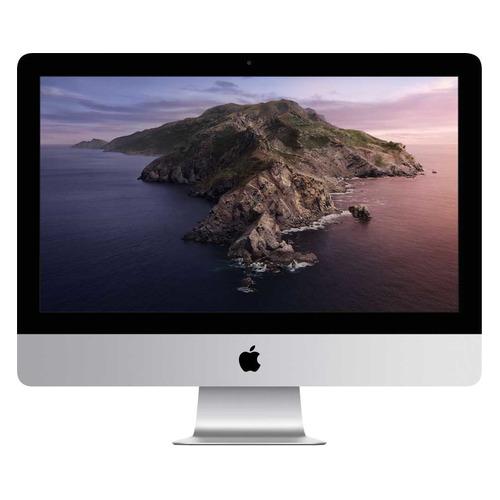 Фото - Моноблок APPLE iMac Z1470005Z, 21.5, Intel Core i3 8100, 8ГБ, 256ГБ SSD, AMD Radeon Pro 555X - 2048 Мб, macOS, серебристый ноутбук apple macbook pro 16 ips intel core i9 9980hk 2 4ггц 64гб 1000гб ssd radeon pro 5500m 8192 мб macos z0xz005lz серый