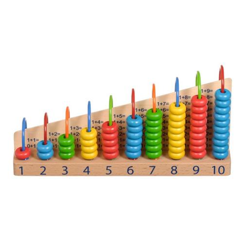 Развивающая игрушка ИГРУШКИ ИЗ ДЕРЕВА Арифметический счет [д013]