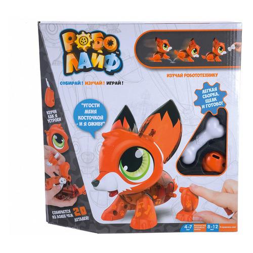 Интерактивная игрушка 1Toy Робо Лайф Лисенок [т16229]