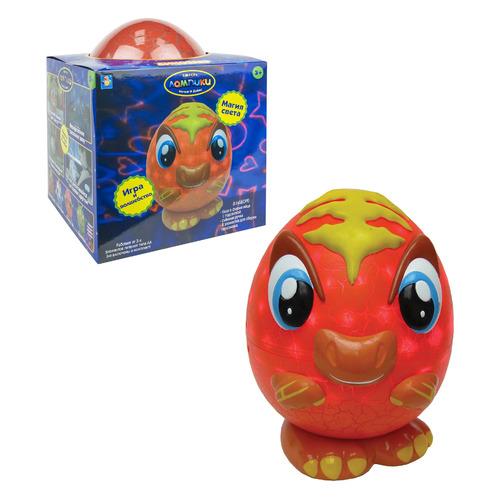 Интерактивная игрушка 1Toy Лампики Динозавр в коробке [т16358]