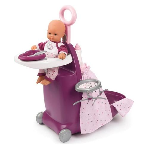 Игровой набор Smoby Baby Nurse Чемодан для куклы 3 в 1 [220346]
