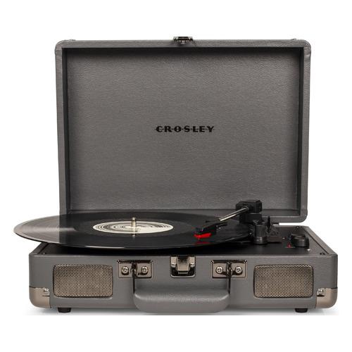 Проигрыватель винила Crosley Cruiser Deluxe частично автоматический серый